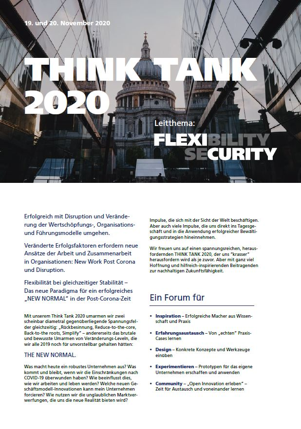 xpand Think Tank Flyer Vorschaubild